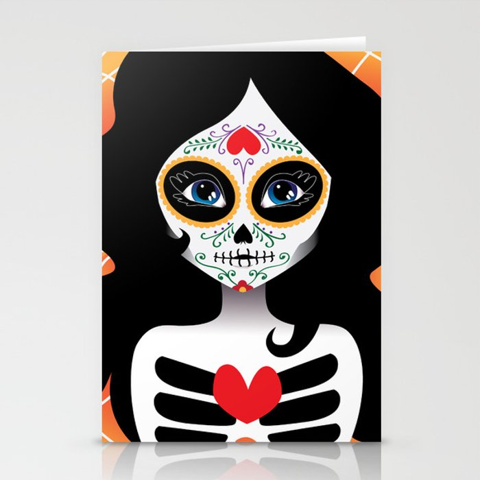 Love in Death Stationery Cards