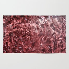 Cotton candy art Rug