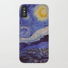 Vincent Van Gogh Starry Night iPhone Case