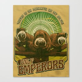 Only Emperors Canvas Print
