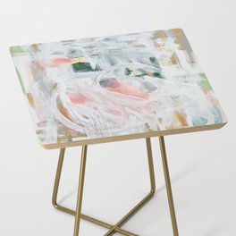 Emerging Abstact Side Table
