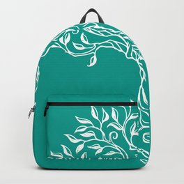 Tree of Life Teal Backpack