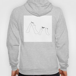 You girls are so pretty, you should smile Hoody