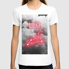 Neon Leo Constellation T-shirt
