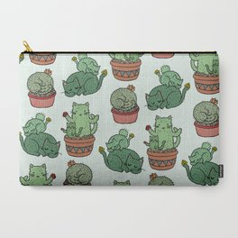 Cacti Cat pattern Carry-All Pouch