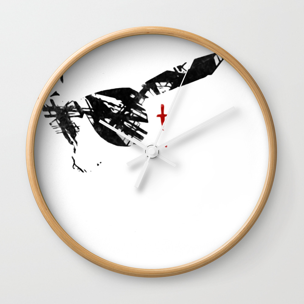 The Place Beyond The Pines Sunglass Face Wall Clock by Thadesign CLK8977193