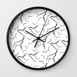 Branches in the day Wall Clock