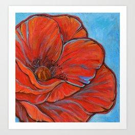 Big Poppy Art Print