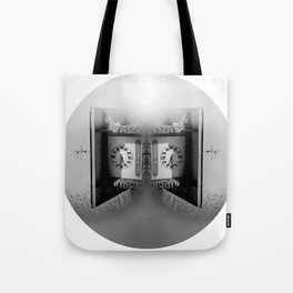 Blind man's time Tote Bag