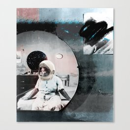 No Mammies on Saturn Canvas Print