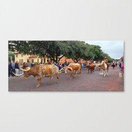Keep Those Doggies Rollin' Canvas Print