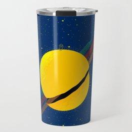 #033 Rocket to the moon!!! Travel Mug