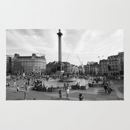 Trafalgar Square, London, England Rug