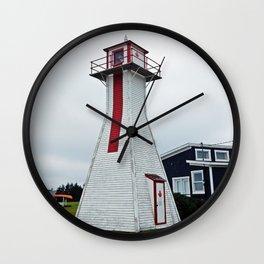 PEI  Range Light Lighthouse Wall Clock