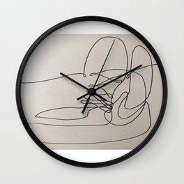 Line of Sight Wall Clock