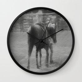 Little Cowpoke Wall Clock