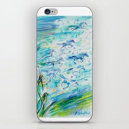 If Wishes Were Horses iPhone Skin
