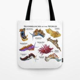 Nudibranchs of the World Tote Bag
