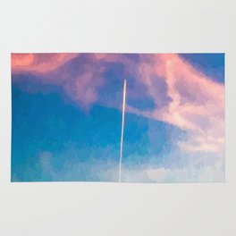 """"""" CONTRAIL """" Rug"""