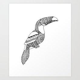 loro, parrot Art Print