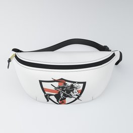 Medieval Knight Jousting Saint Georges Cross Fanny Pack
