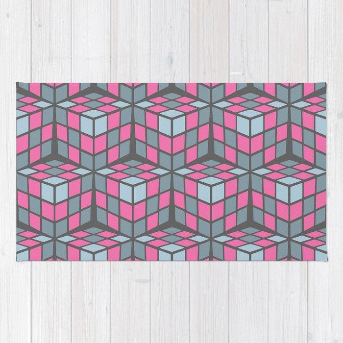 cascade - pink Rug