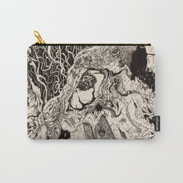 Entanglement (Untitled Face II) Carry-All Pouch