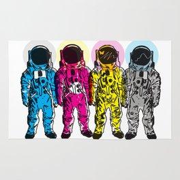 CMYK Spacemen Rug