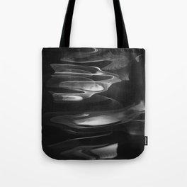 Water abstract H2O No.62  black-white Tote Bag