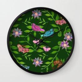 zakiaz magical forest Wall Clock