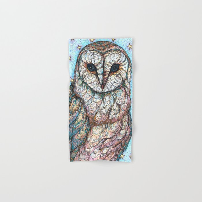 Barn Owl Hand & Bath Towel
