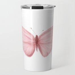Rose Butterfly Travel Mug
