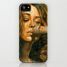Corinne iPhone Case