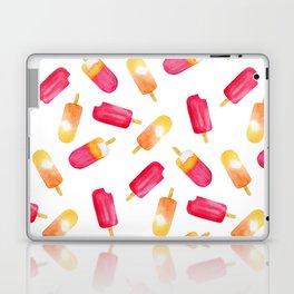 watercolor popsicle pattern Laptop & iPad Skin