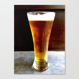 Beer Gold Canvas Print