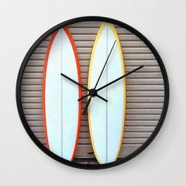 Surfin' Wall Clock