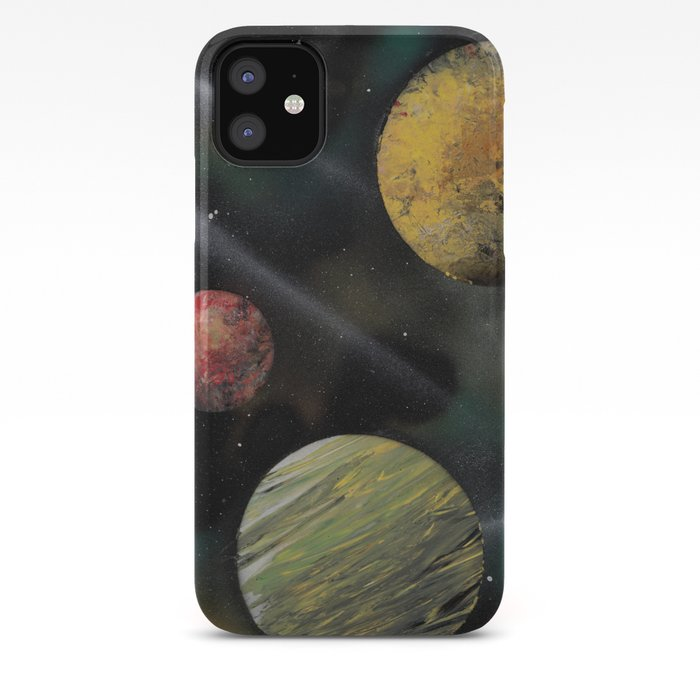 iphone cover spray paint art