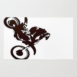 Motor X Silhouette Rug