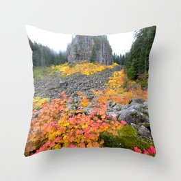 Table Rock Wilderness Landscape Throw Pillow