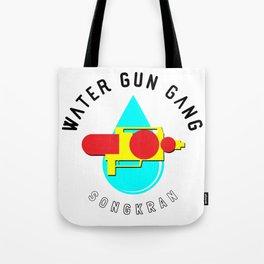 Songkran Water Gun Gang Tote Bag