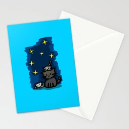 Three Little Cats Stationery Cards