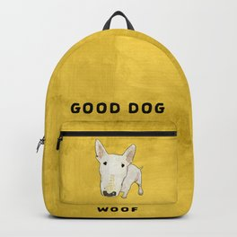 English Bull Terrier pop art Backpack