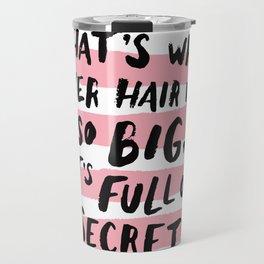 It's Full Of Secrets Travel Mug