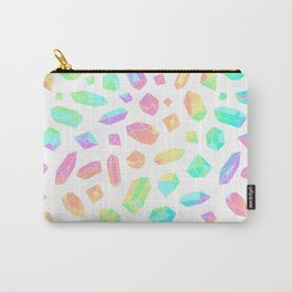 Rainbow Crystal Pattern Carry-All Pouch