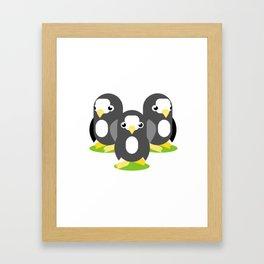 Amazon Trio Framed Art Print