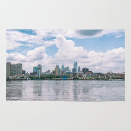 1513 - Philadelphia Cityscape from New Jersey Rug