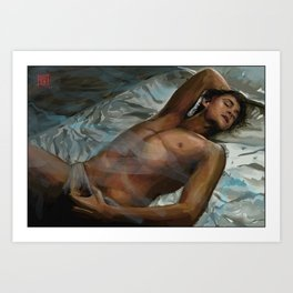 Fitful Sleep Art Print
