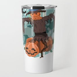 Scary Scarecrow Travel Mug