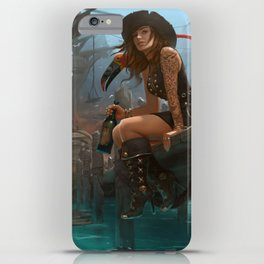 Pirate Haven Tortuga iPhone Case