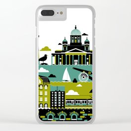 Helsinki Clear iPhone Case